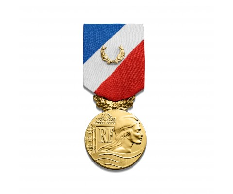 MEDAILLE DE LA SECURITE INTERIEURE or